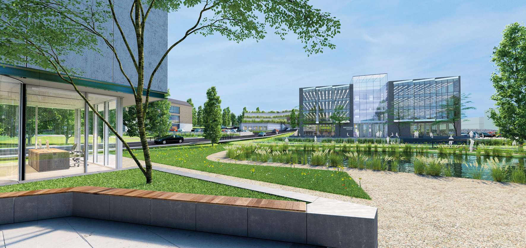 Kent Medical Campus - CGI